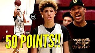 LaMelo Ball Scores 50 POINTS & Pulls Out ALL The Tricks In CLUTCH Performance For Big Ballers!!
