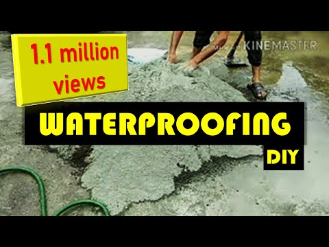 Waterproofing of roof slab from leakage of water | पाणी कि लिकेज को कैसे रोके