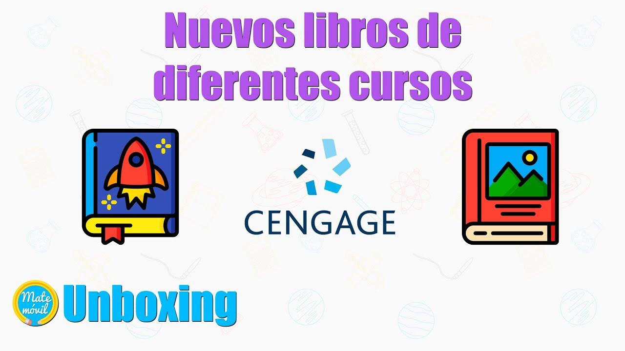 Unboxing de libros de diferentes cursos: física, estadística, álgebra y precálculo