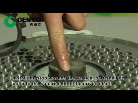 Small Pellet Machine Installation & Demonstration (how to )