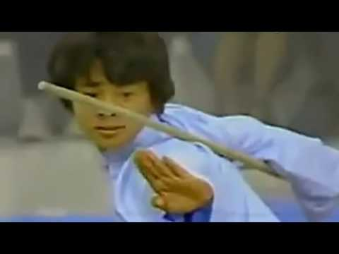 Jet Li performances in Japan 1982, Shaolin Gun