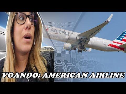 VOANDO DE AMERICAN AIRLINE CLASSE ECONÔMICA - RIO DE JANEIRO/MIAMI/ORLANDO - EMBARQUE GLAMOUR