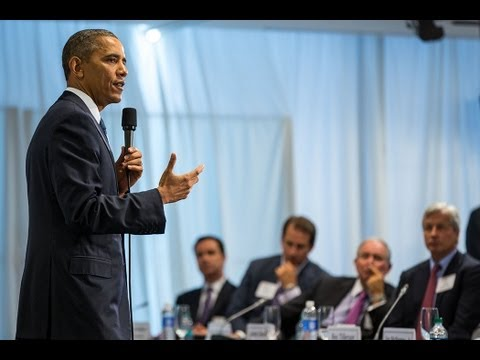 President Obama Speaks to the Business Roundtable