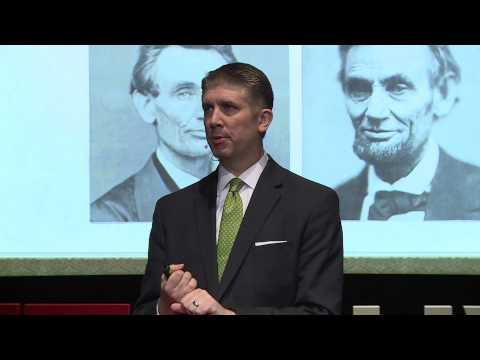 Abraham Lincoln   Matthew Holland   TEDxUVU