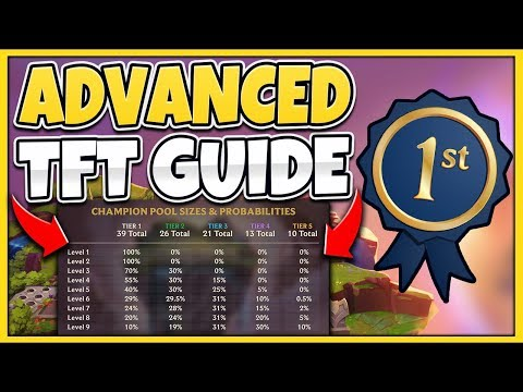 *TFT CHEATSHEET* ULTIMATE ADVANCED TFT GUIDE TEAM FIGHT TACTICS - League of Legends