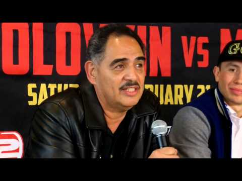 Abel Sanchez this is the year for Golovkin no more excuses