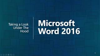 Microsoft Word 2016 Tips and Tricks Training