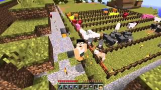 【カズクラ】マイクラ実況 PART177 ひつじ牧場を改造してみた。 -KazuGames thumbnail