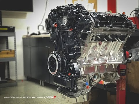 Alpha Performance R35 GT-R Crate Engine Time Lapse
