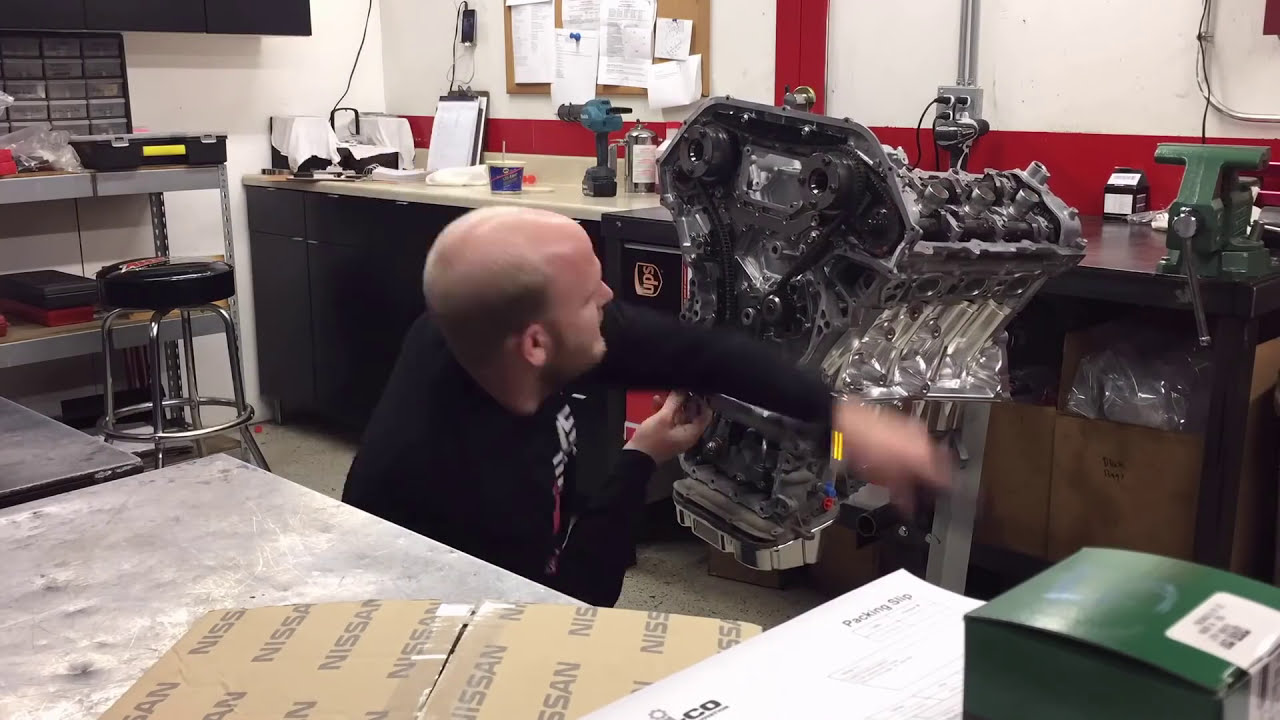 Alpha Performance R35 Gt-R Crate Engine Time Lapse  Ams Performance 02:06 HD