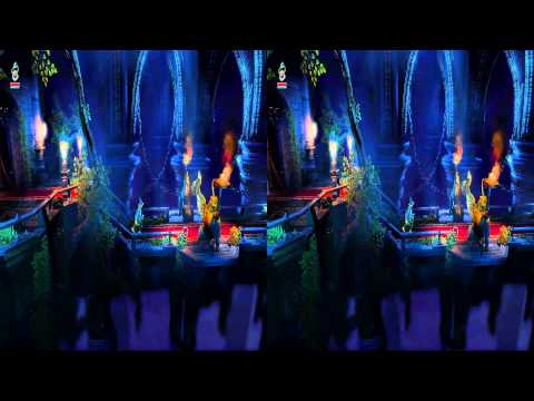 3D Stereo Game Play Trine