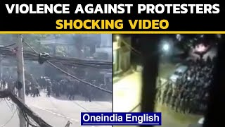 Myanmar: Violence against anti-coup protesters | Videos go viral | Oneindia News