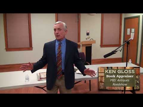 Ken Gloss: Book Appraiser from the Antiques Roadshow