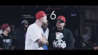 KOTD - Rap Battle - Caustic vs Cortez