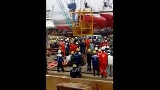 Terbaru - Galangan Kapal Batam Menelan Korban Kamis Sore 17/9
