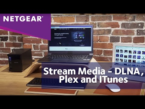 NETGEAR ReadyNAS Media Streaming – DLNA, Plex & iTunes - YouTube