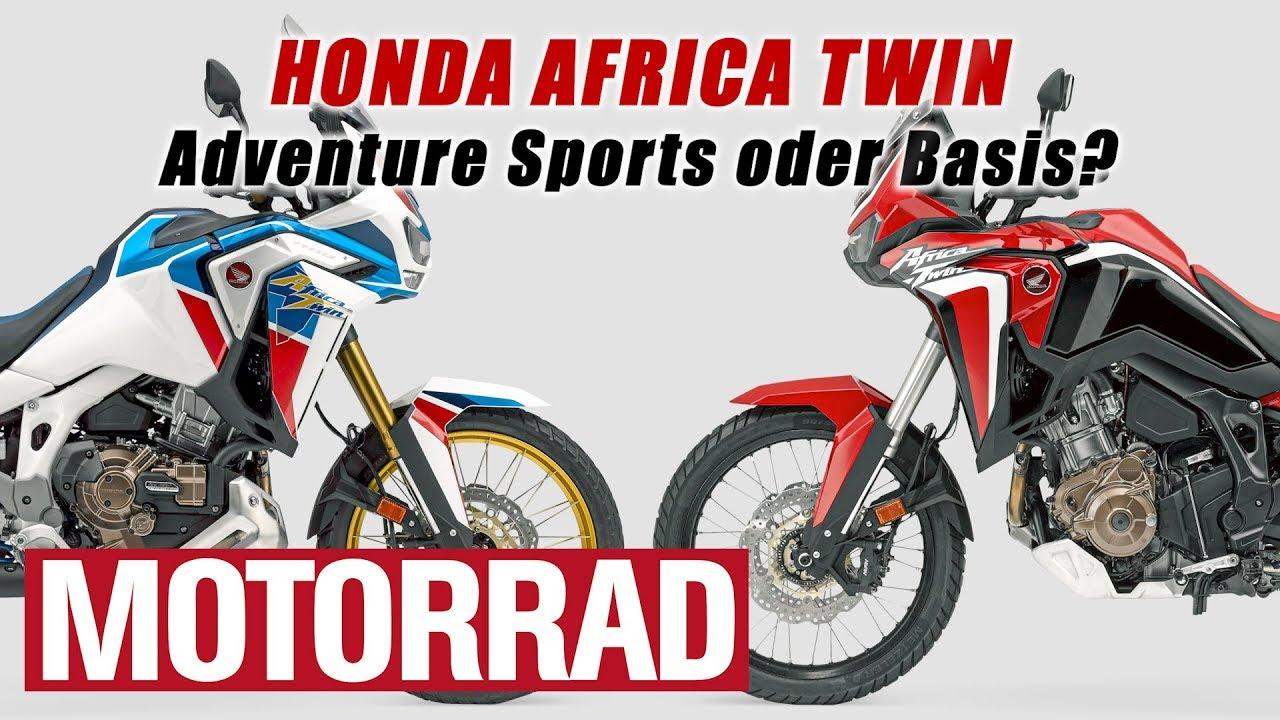 Honda Africa Twin (2020) - Teil 2: Adventure Sports oder Basis? DCT und EERA: ja oder nein?