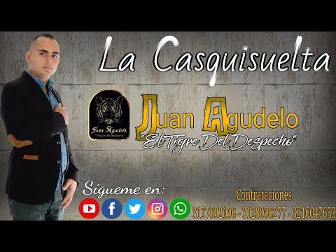 """LA CASQUISUELTA - Juan Agudelo """"El Tigre Del Despecho"""" (Video Lyric)."""