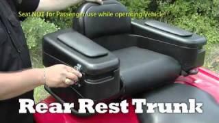 Quadboss Rear Rest Trunk at Chaparral Motorsports