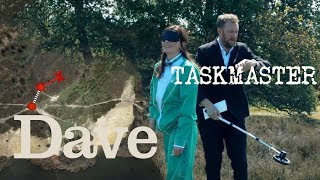 Taskmaster Series 5 Ep 7 | Get As Far As You Can Blindfolded | Dave