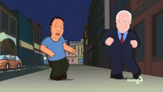 """Rush Limbaugh's Fight Scene on Family Guy (the """"Excellence in Broadcasting"""" episode)"""