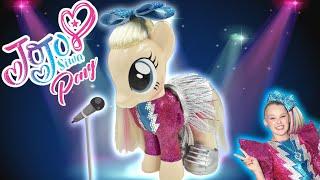 JOJO SIWA PONY MAKEOVER Boomerang Cover Custom Doll My Little Pony Tutorial