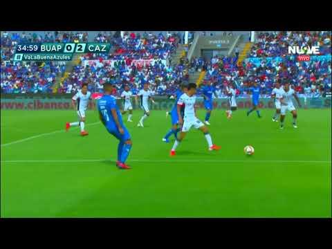 Resumen   Lobos BUAP 1 - 4 Cruz Azul   Liga MX - Clausura 2019  - Jornada 16