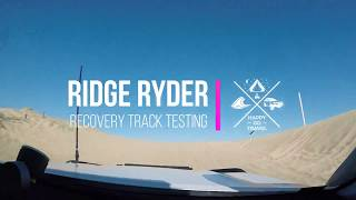 Do cheap recovery tracks work? Ridge Ryder Recovery Track Testing