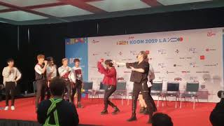Cover images 190818 STRAYKIDS dancing to Twice, Blackpink, and Itzy @ KCONLA2019