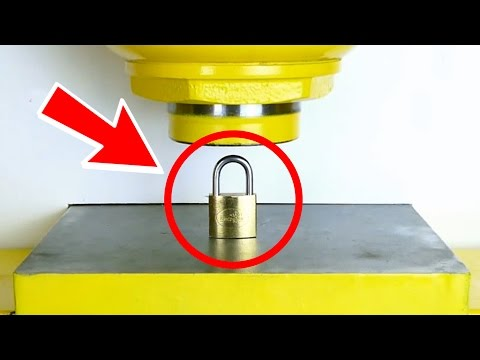 Thumbnail: HOW TO OPEN A PADLOCK !! - Experiment at Home
