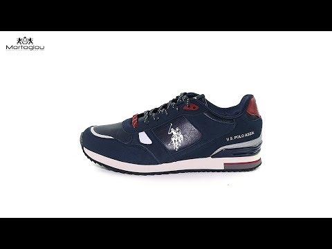 Ανδρικά Παπούτσια Casual U.S Polo Assn Wilde Dark Blue Suede - YouTube d5cbf03189b