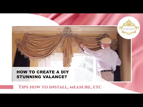 Video #48: Tips From Us: Swag Curtains DIY - How to Create Stunning Swag Curtains in Your Home