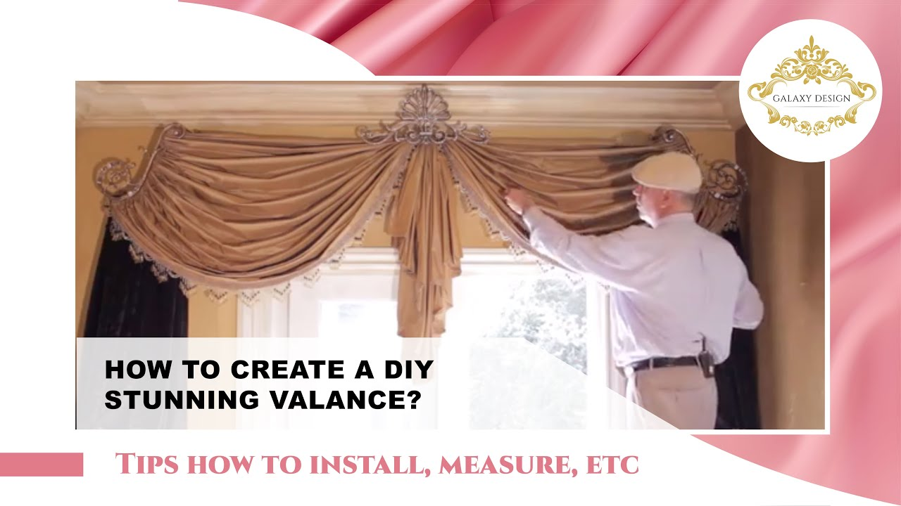 Video #48: Tips From Us: Swag Curtains DIY - How to Create ...