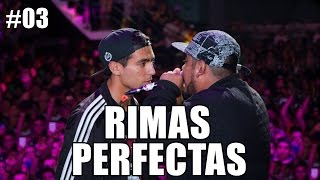 RIMAS PERFECTAS #3 | Freestyle Rap (Rimas en Estado Puro) [Batallas de Gallos] thumbnail