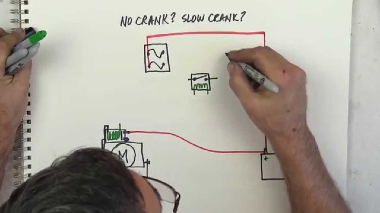No Crank Slow Youtube 1990 Vanagon Alternator Wiring Diagram