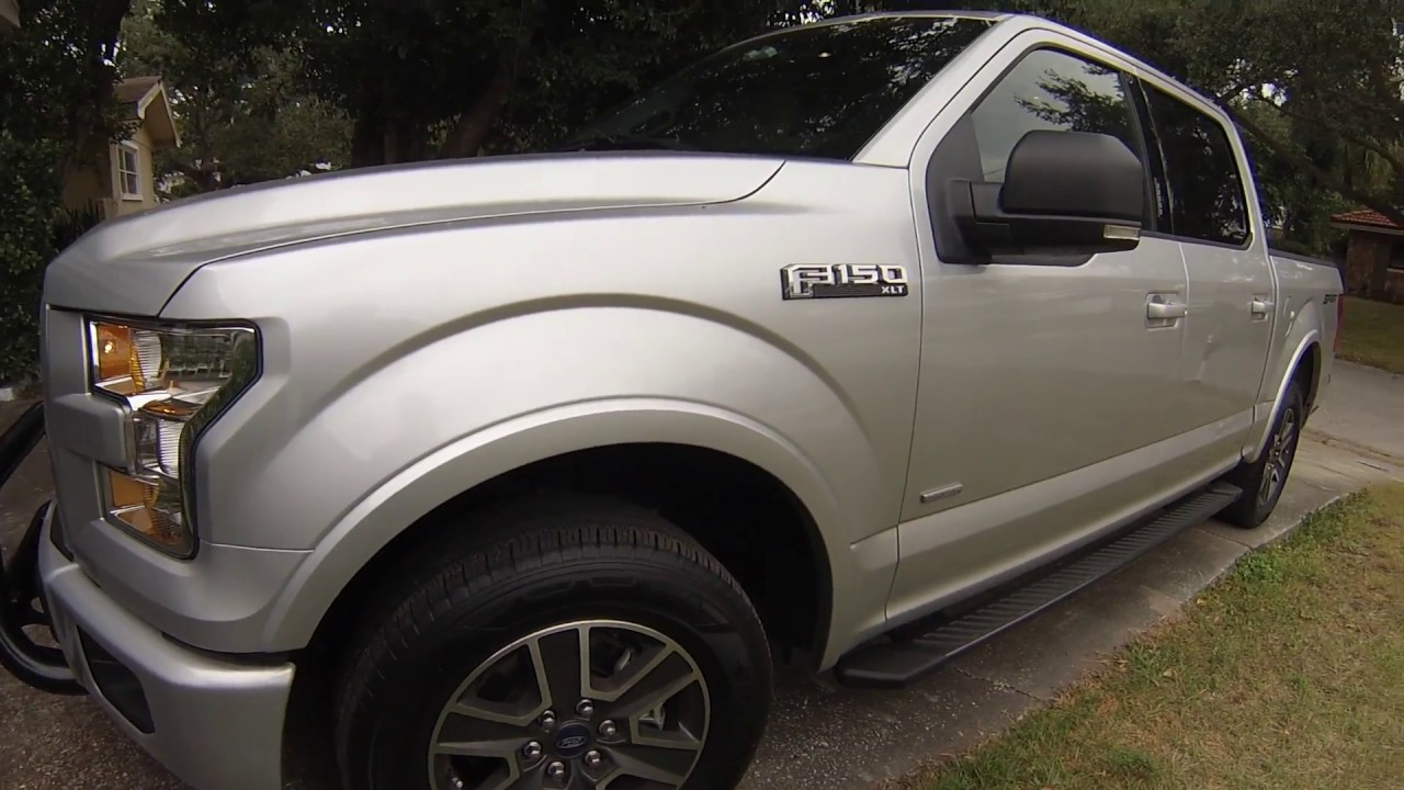 2016 F150 Level And 33 Tires Youtube