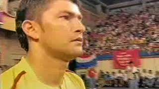 Paraguay vs Colombia parte 1 final del campeonato mundial del 2003