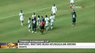 Arema Cronus Menang 2-0 Atas Persib