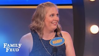 TONGUE? NOW we're TALKIN'! | Family Feud
