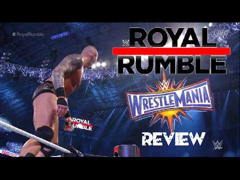 WWE ROYAL RUMBLE 2017 PPV RESULTS/REVIEW...