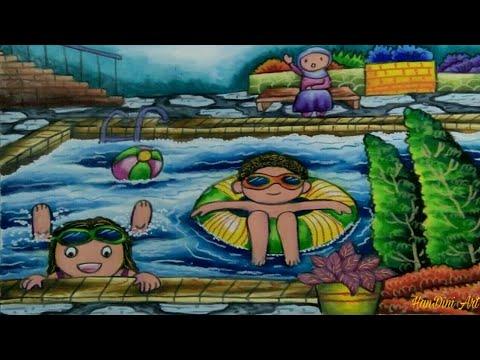 Gambar Berenang Di Kolam Renang Swimming In The Pool Youtube