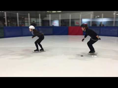 First Time Speed Skating