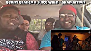 IT'S A MOVIE?! Juice Wrld & Benny Blanco - Graduation | REACTION | D R E A M E