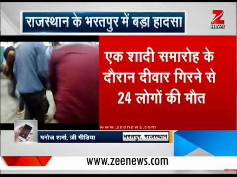 Rajasthan: Many dead after a wedding hall collapses in Bharatpur district
