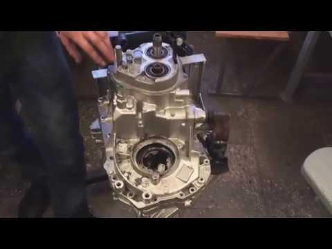 Renault Logan механическая коробка передач. переборка.
