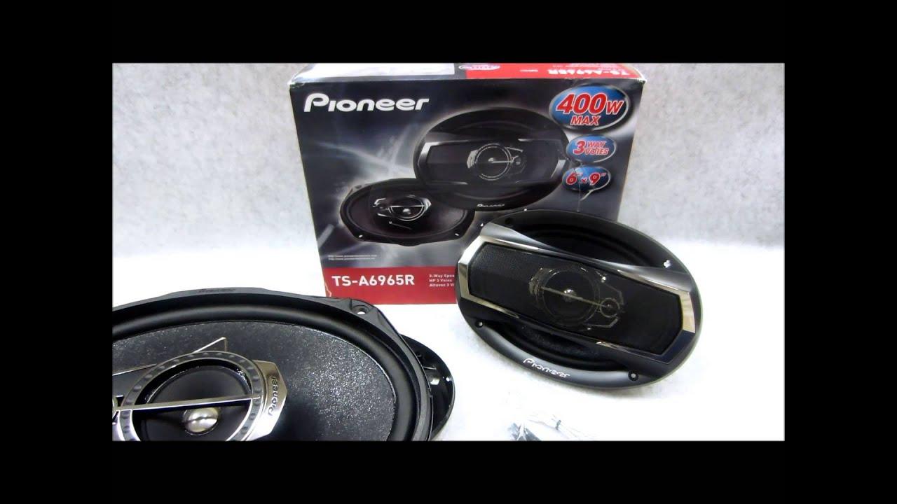 Pioneer Car Audio Speakers Price In Pakistan