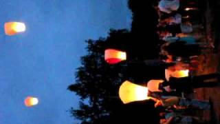 фонарики на свадьбе.avi