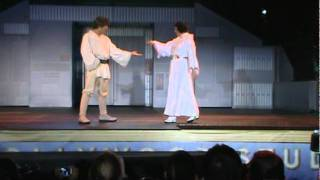 Dance off with the Star Wars Stars 2011 (Part 3) Hyperspace Hoolpa