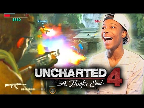UNCHARTED 4 Multiplayer Gameplay - My 1st Game! (Tips & Tricks)