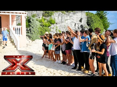 Tulisa Joins Louis at the Judges Houses - The X Factor UK 2014